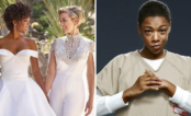 """Samira Wiley, a Poussey de """"OITNB"""", se casou com a roteirista da série Lauren Morelli ❤"""
