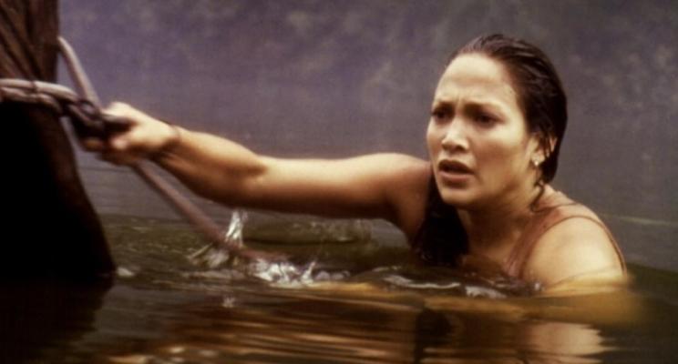 """Há 20 anos, J-Lo visitava a Amazônia e fugia de uma cobra gigante no clássico trash """"Anaconda"""""""