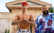 "Mais um hit! Justin Bieber mostrando o corpinho no clipe de ""I'm the One"", do DJ Khaled"