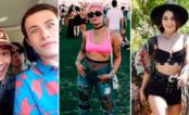 """Elenco de """"13 Reasons Why"""", Vanessa Hudgens, Halsey e vários famosos arrasando no primeiro dia de Coachella!"""
