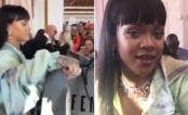 Rihanna vira caixa de loja da Puma e manda recadinho para o Brasil!