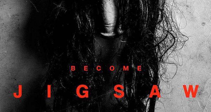 O primeiro pôster promocional do próximo filme da franquia Jogos Mortais foi divulgado!