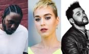 Katy Perry, Kendrick Lamar e The Weeknd lideram indicações ao VMA 2017!