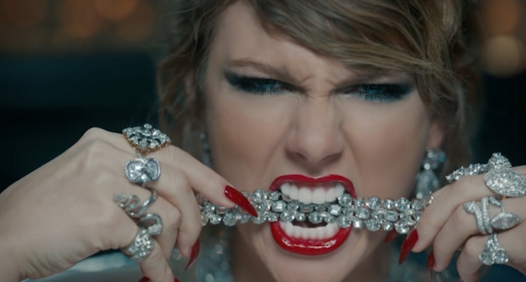 "O teaser do clipe de ""Look What You Made Me Do"", da Taylor Swift, já está no ar!"