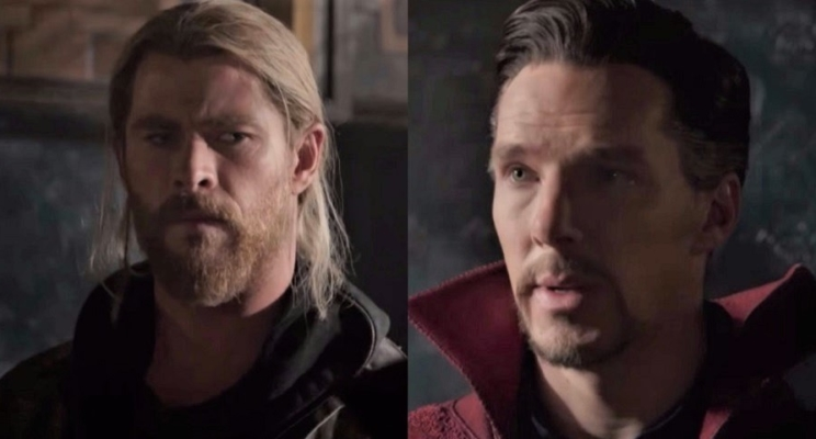 """O Doutor Estranho apareceu no novo trailer de """"Thor: Ragnarok""""!"""