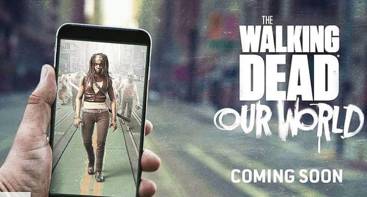 """""""The Walking Dead"""" vai ganhar um jogo no estilo de """"Pokémon GO""""!"""