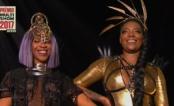 Karol Conka e Ludmilla fazem medley empoderado no Prêmio Multishow 2017