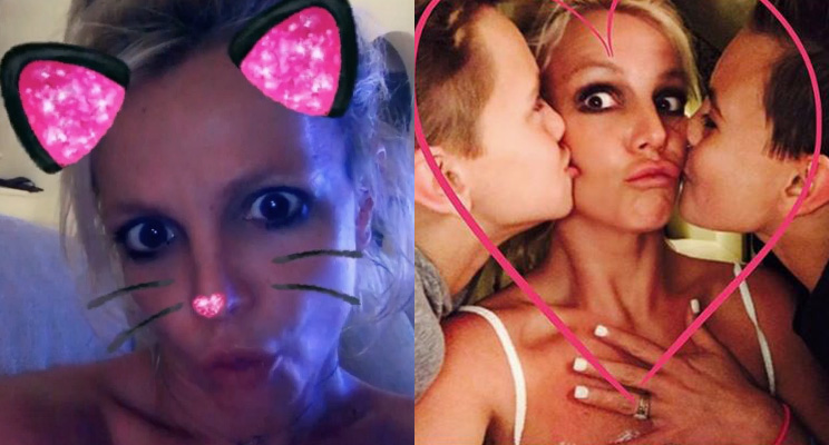 Coisas que você só vai ver no Instagram (maravilhoso) da Britney Spears